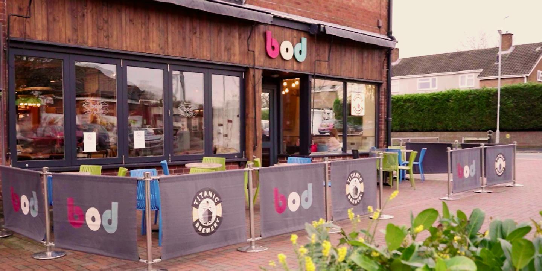 Bod Cafe Bar Stafford